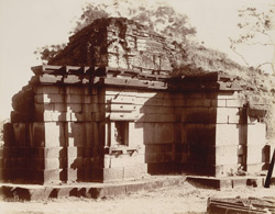 Katar Khatav, Satara District. Temple of Katesvara, back of